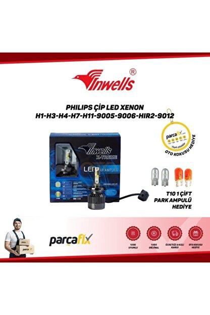 Inwells Philips Çip Led Xenon H3