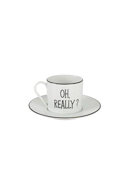 Porland Be Happy Tek Kişilik Tabaklı Çay Fincanı 180cc 2016ST021232202