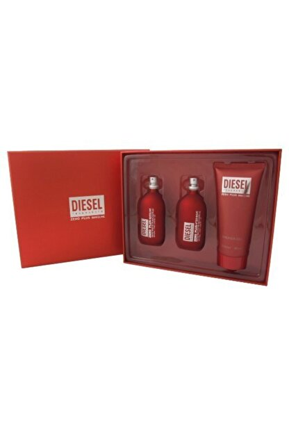 Diesel Zero Plus Masculine 3 Lü Hediye Seti - 75 Ml Edt + 75 Ml Aftershave + 150 Ml Shower Gel