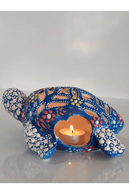 Çini Kaplumbağa Masa Lambası