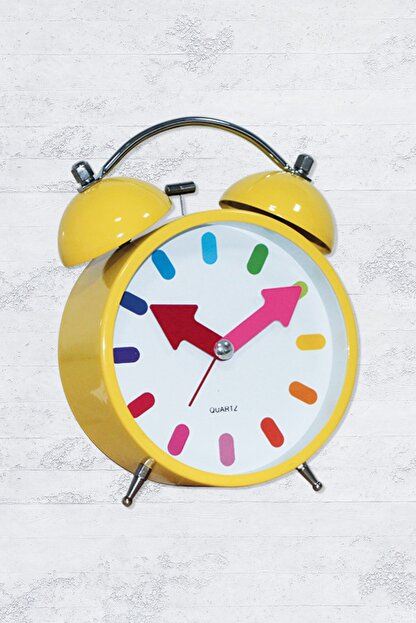 Time Gold Çalar Masa Saati