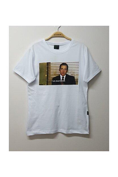 Köstebek The Office - Michael Scott I Am Dead Inside T-shirt