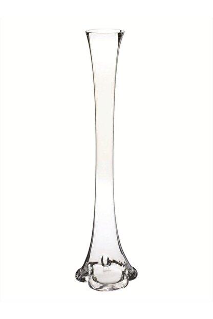 Nettenevime Fil Ayağı Vazo Cam Vazo 60cm Ince Belli Vazo