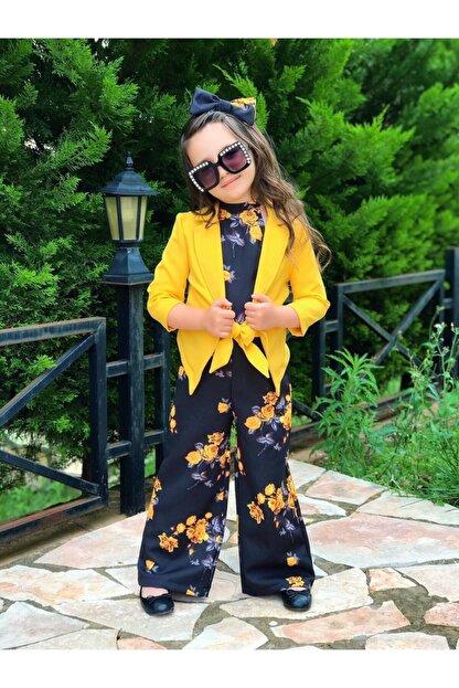 Riccotarz Çocuk Sarı Ceketli Tulum