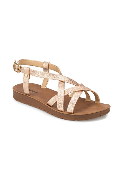 Polaris Altın Rengi Kadın Sandalet 000000000100375886