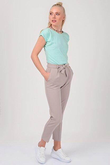 Zafoni Bel Kuşaklı Klasik Pantolon P-00001280