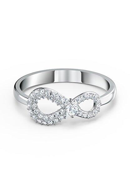 Swarovski Kadın Yüzük Swa Infinity-ring Cry-czwh-rhs 58 5535401