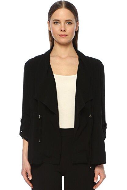 Network Kadın Regular Fit Siyah Ceket 1073836