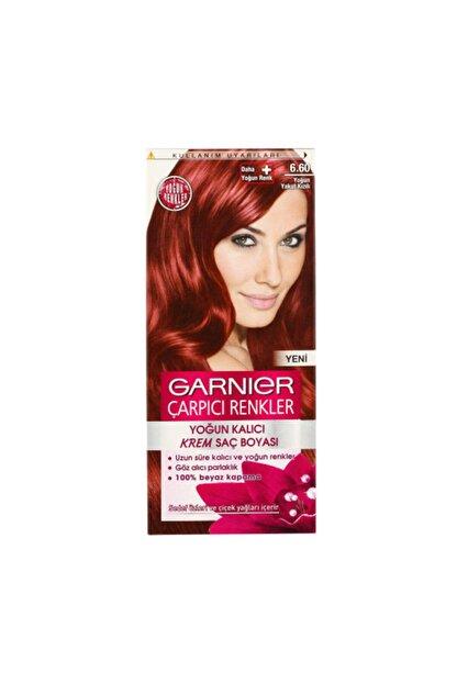 Garnier Saç Boyası - Çarpıcı Renkler 6.6 Yoğun Yakut Kızılı 3600541137028