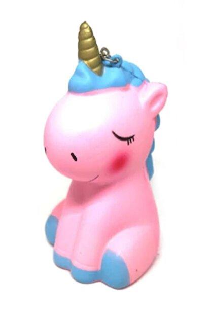 RoseRoi Unicorn At Squishy Anahtarlık Kokulu Yavaş Yükselen Oyuncak Sukuşi