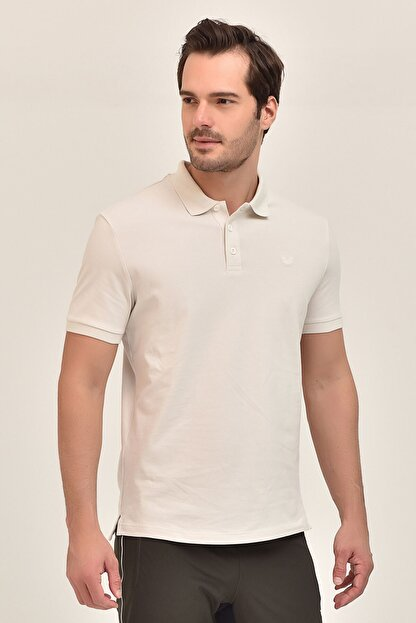 bilcee Gri Erkek Polo Yaka T-Shirt GS-8982
