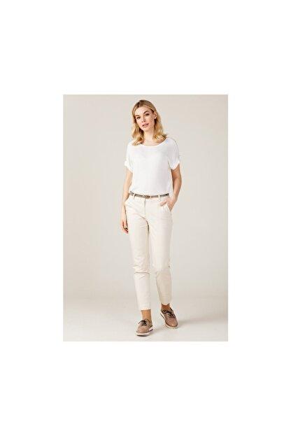 Ekol Kadın Kemerli Likralı Pantolon