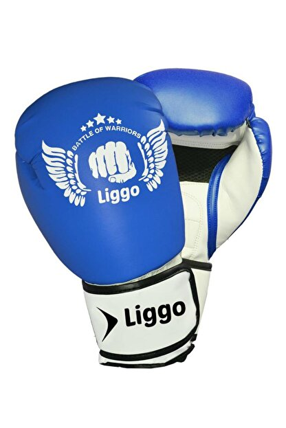Liggo Unisex Çocuk Boks Eldiveni Kick Boks Muay Thai Eldiveni Liggo Force