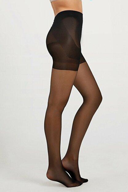 Suwen Perfect Shaper 20 Den Külotlu Çorap - Siyah