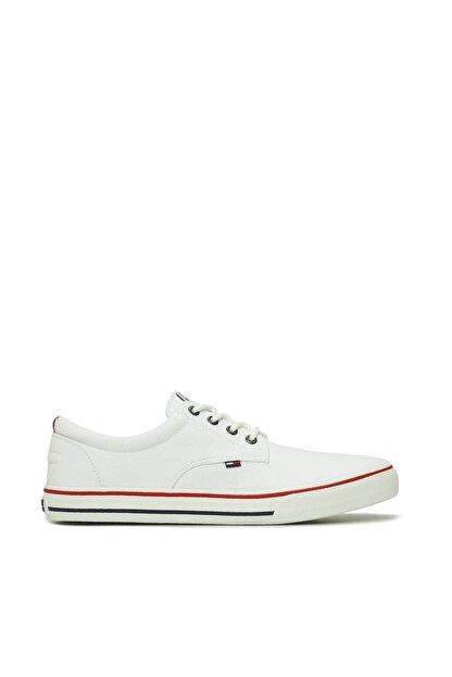 Tommy Hilfiger Erkek Textile Sneaker EM0EM00001