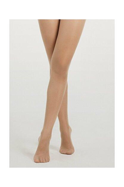 Suwen Invisible 8 Den Külotlu Çorap - Nude