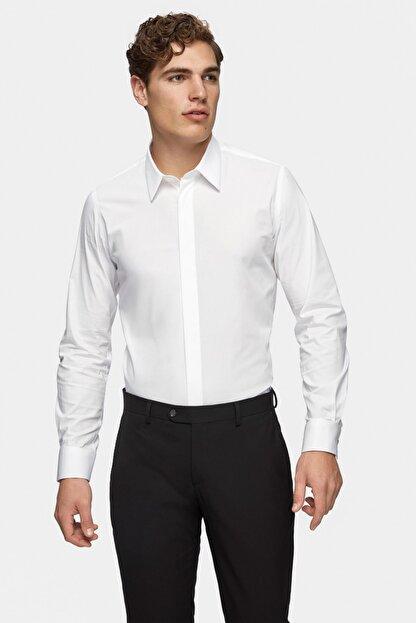 Tween Erkek  Beyaz Gömlek Essentıal 3TFF2SGEC0256_801