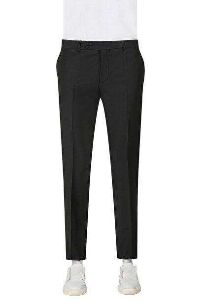 D'S Damat Siyah Renk Erkek  Pantolon (Slim Fit)