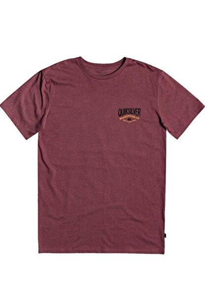Quiksilver Bordo Cloud Cornerss M Tees Cphh Erkek T-shirt