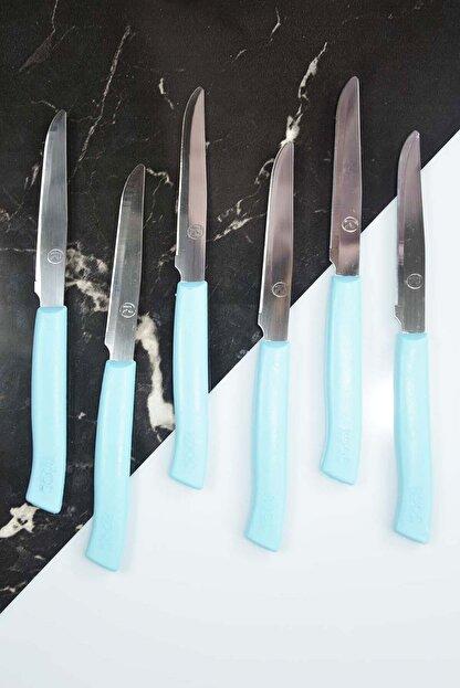 Rooc 6 Parça Bıçak Turkuaz