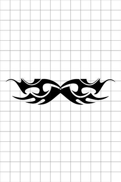 TatFast Kanat 1186 Geçici Dövme Flash Tattoo