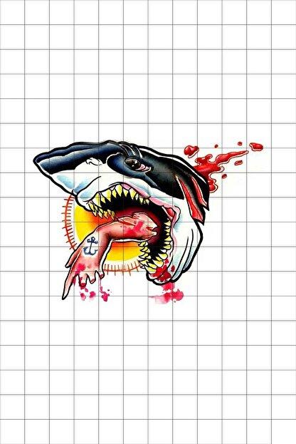 TatFast Deniz Yaratığı 640 Geçici Dövme Flash Tattoo