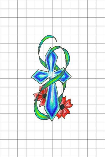 TatFast Dini 12 Geçici Dövme Flash Tattoo