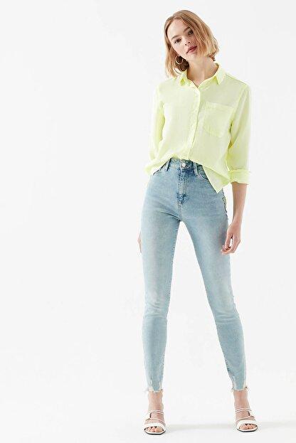 Mavi Kadın Serenay Gold Icon Jean Pantolon 100980-29195