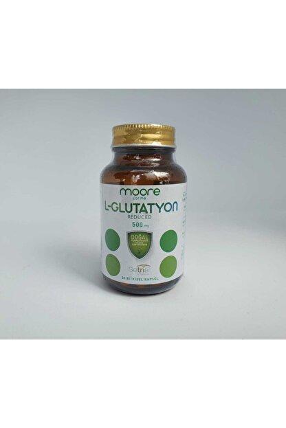 Moore Glutatyon Reduced 500mg 30 Kapsül (japon Setria)