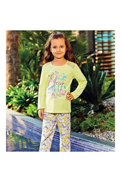 Rolypoly Rolypoly 1050 Pamuklu 1-9 Yaş Pijama Takımı Sarı