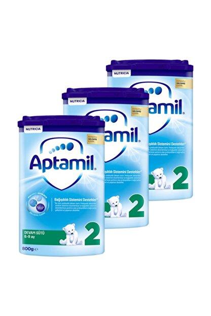 Aptamil 2 Akıllı Kutu Devam Sütü 800 gr x 3 Adet