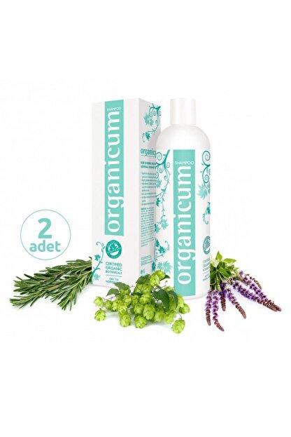 Organicum Kuru / Normal Saçlar Için Şampuan 350 Ml X 2 Adet