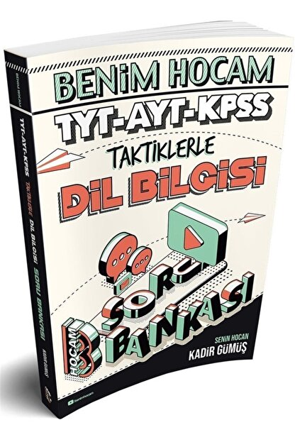 Benim Hocam Yayınları Tyt Ayt Kpss Taktiklerle Dil Bilgisi Soru Bankası