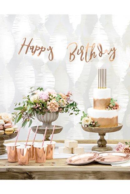 KullanAt Market Rose Gold Doğumgünü Seti 12 Kişilik