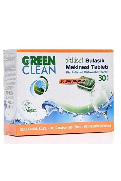 Green Clean Bulaşık Makinesi Organik Bitkisel Tablet (30 Adet) X 2 Adet