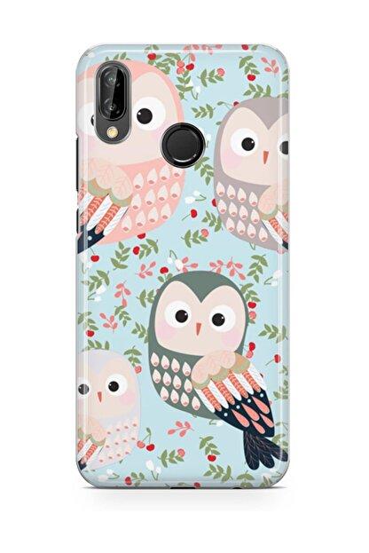 Melefoni Huawei Y9 2019 Kılıf Owl Serisi Daisy