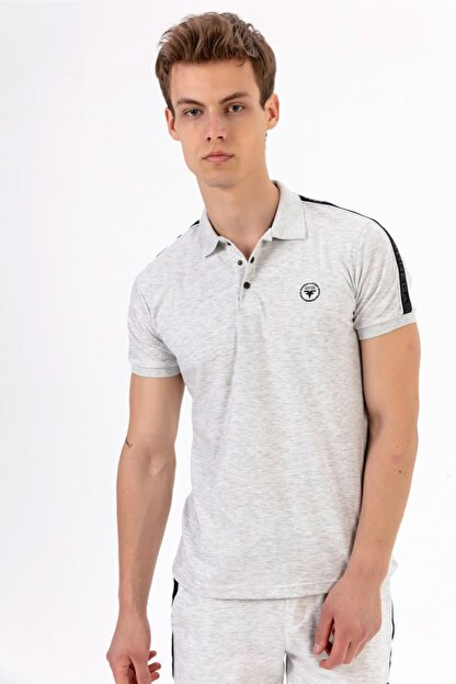 Fabregas B. Şeritli Polo Yaka T-shirt