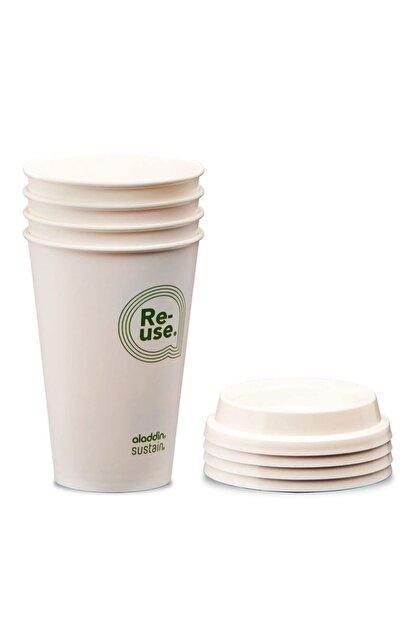 Aladdin Re-use Sustain Cup & Lid 0,35 lt 4lü Paket