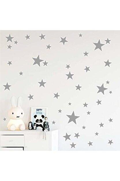 hediyepostası Yıldız Duvar Sticker 3-4-5cm 100 Adet