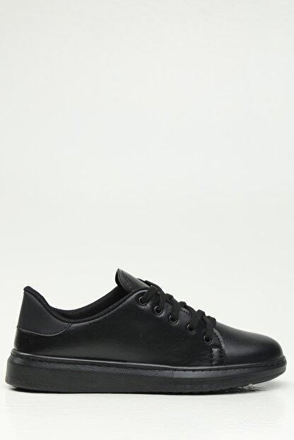 Ayakkabı Modası Siyah-Siyah Kadın Casual Ayakkabı BM-4000-19-110001