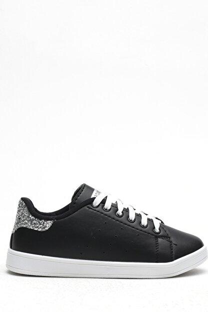 Ayakkabı Modası Siyah-Platin Kadın Casual Ayakkabı BM-4000-19-110003