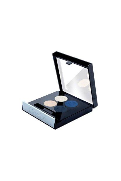 Dünya Cecile Matte Quattro Eyeshadow 4lü Far 804 Blue Bead
