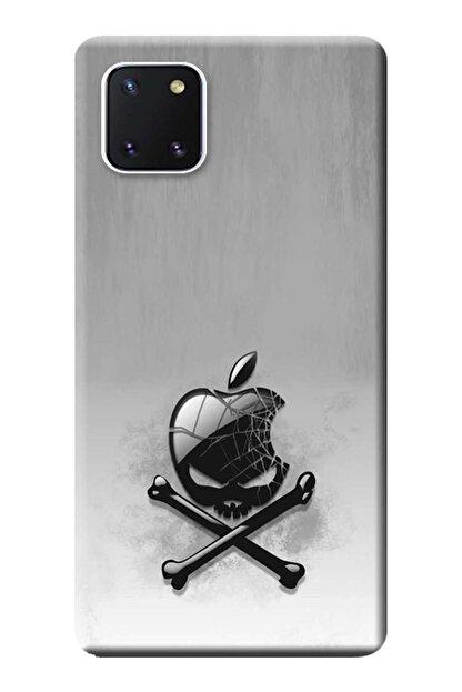 Kılıfmerkezi Samsung Galaxy Note 10 Lite Kılıf Sm-n770f Desen Baskılı Silikon Ölümtehlikesi Stk:151