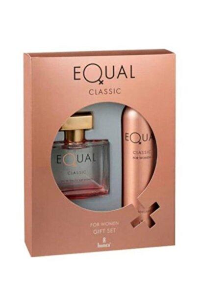 Equal Classic Edt 75 ml ve Deodorant 150 ml Kadın Parfüm Seti 869097302872311