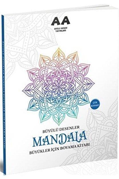 Akıllı Adam Mandala Büyülü Desenler Büyükler Için Boyama Kitabı