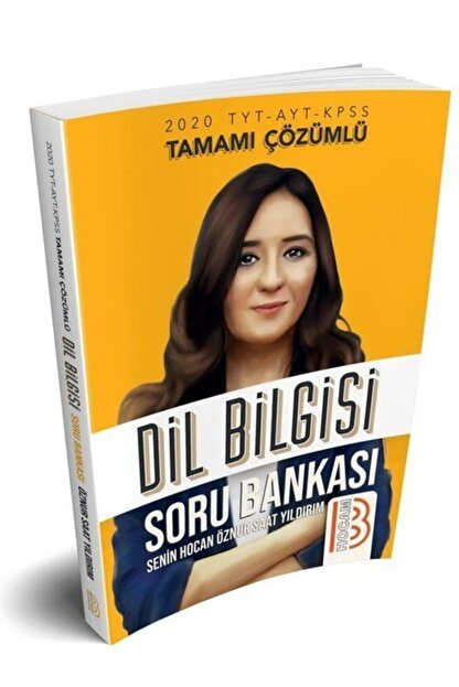 Benim Hocam Yayınları 2020 Tyt Ayt Kpss Dil Bilgisi Tamamı