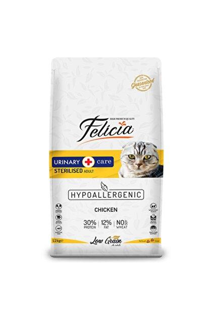 Felicia Düşük Tahıllı Kısırlaştırılmış Tavuklu Yetişkin Kedi Maması 12 Kg