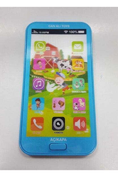 Pasifik Toys Mavi Pilli Işıklı Sesli Akıllı Telefon