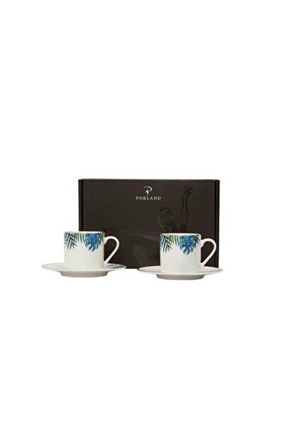 Porland Exotic Desen Kahve Takımı 4 Parça