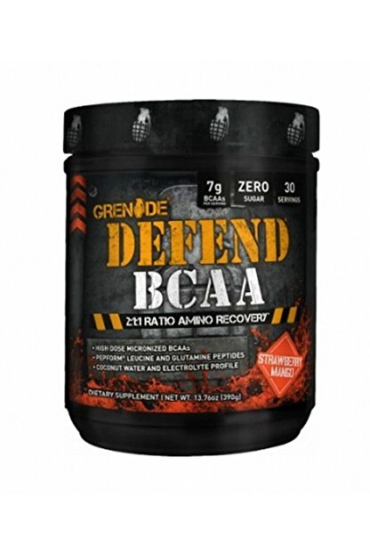 Grenade Defend Bcaa Çilek Mango Aromalı 30 Servis